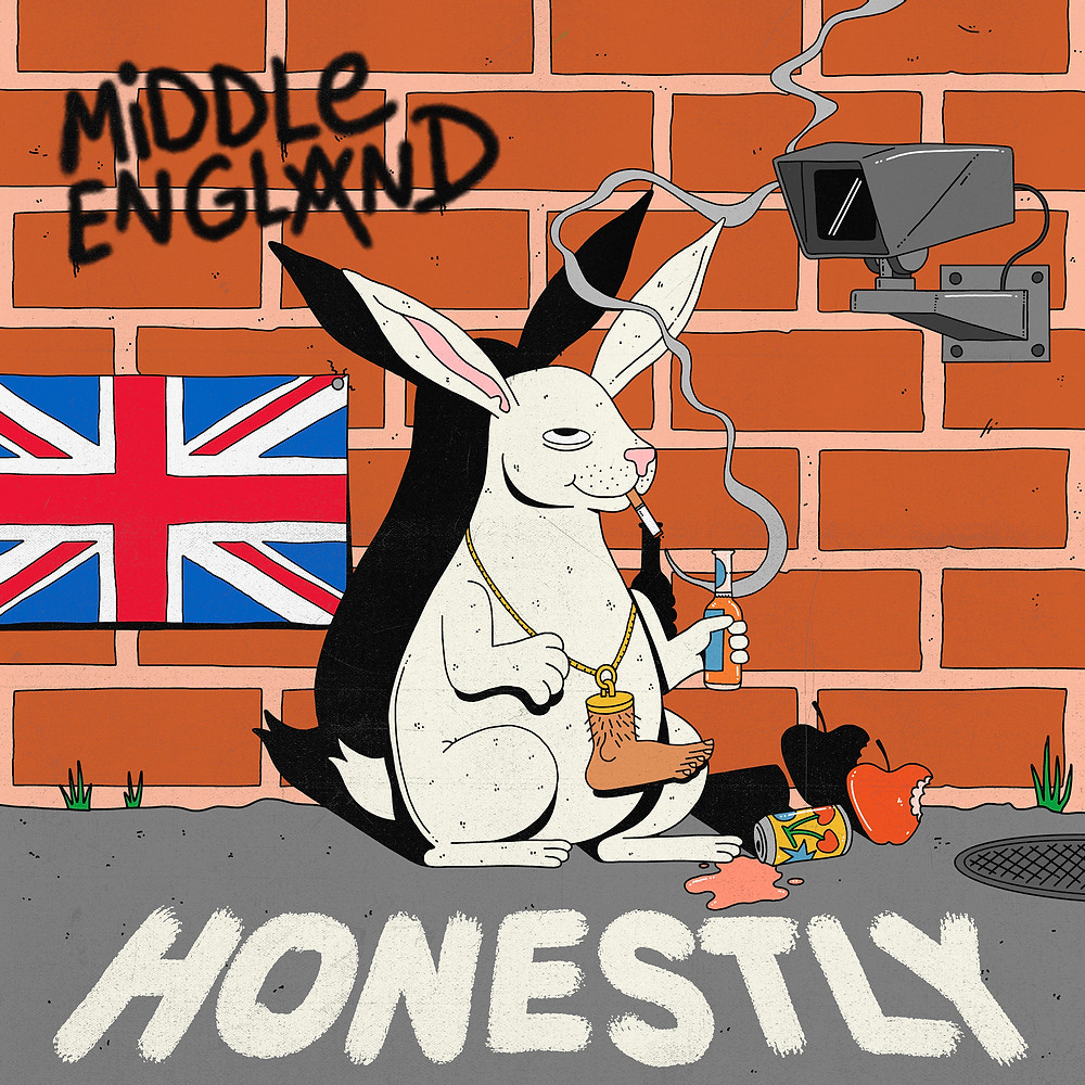 Middle England Band, Middle England Music, Middle England Group, Lucky Rabbit, Honestly, Jamie Muck