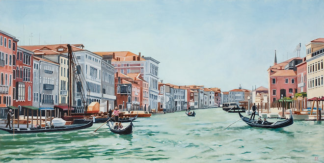 Grand Canal  16x8