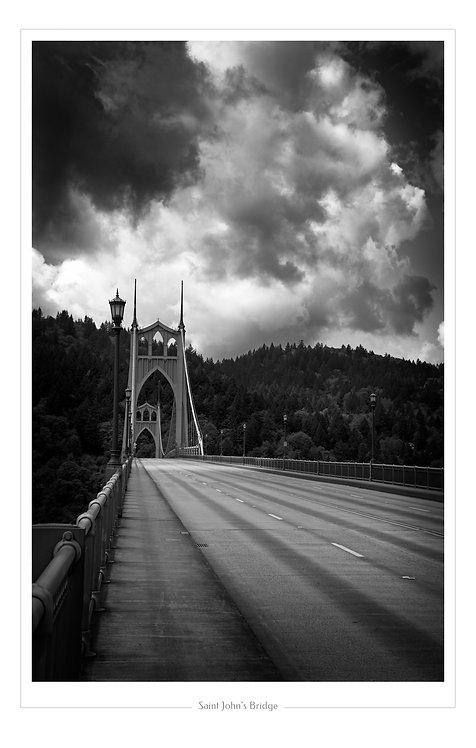St Johns Bridge  13x19