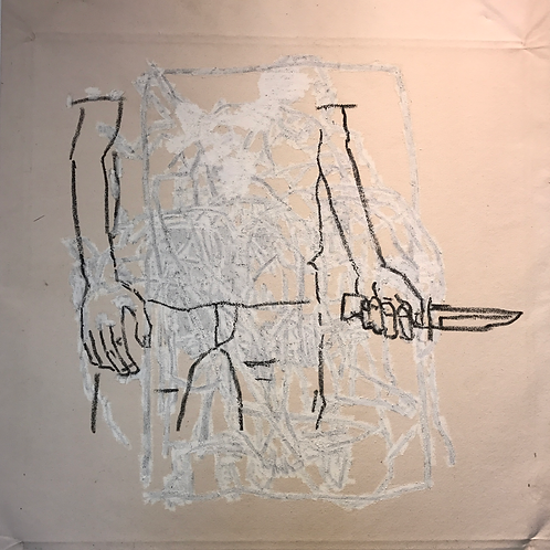 Dillon and the Knife 66x54