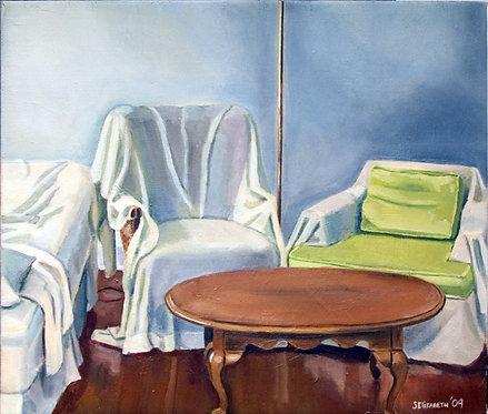 Sitting Room  23x26