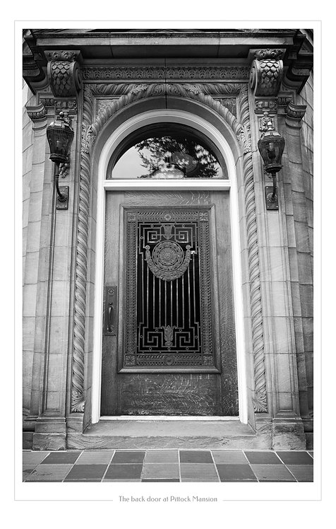 Pittock Mansion Door  13x19