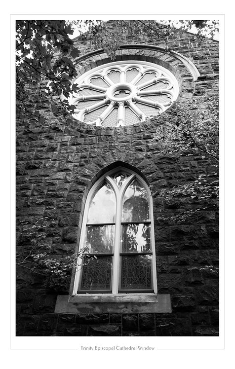 Trinity Episcopal Window  13x19