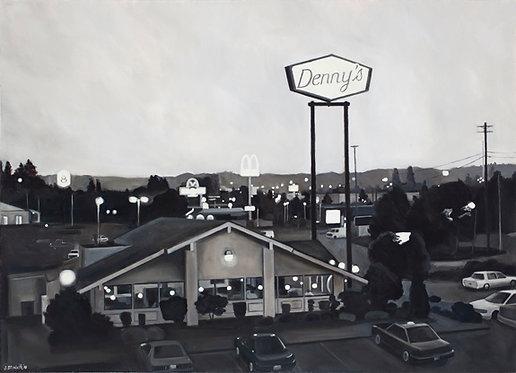 Denny's at Twilight  37x27