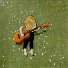 Guitar Girl  8x10