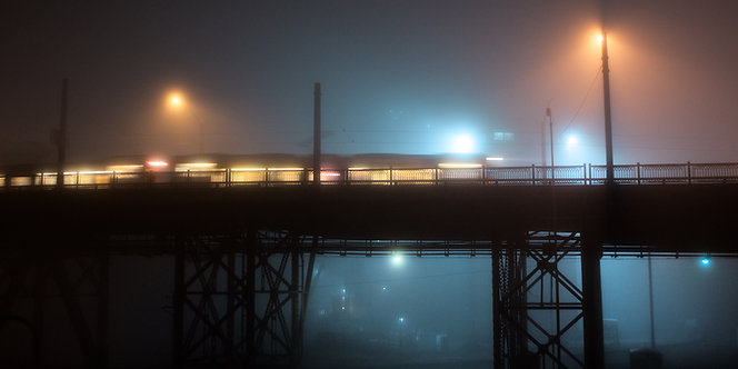 Night Train 20x10