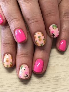 Flamingos & Pineapples!