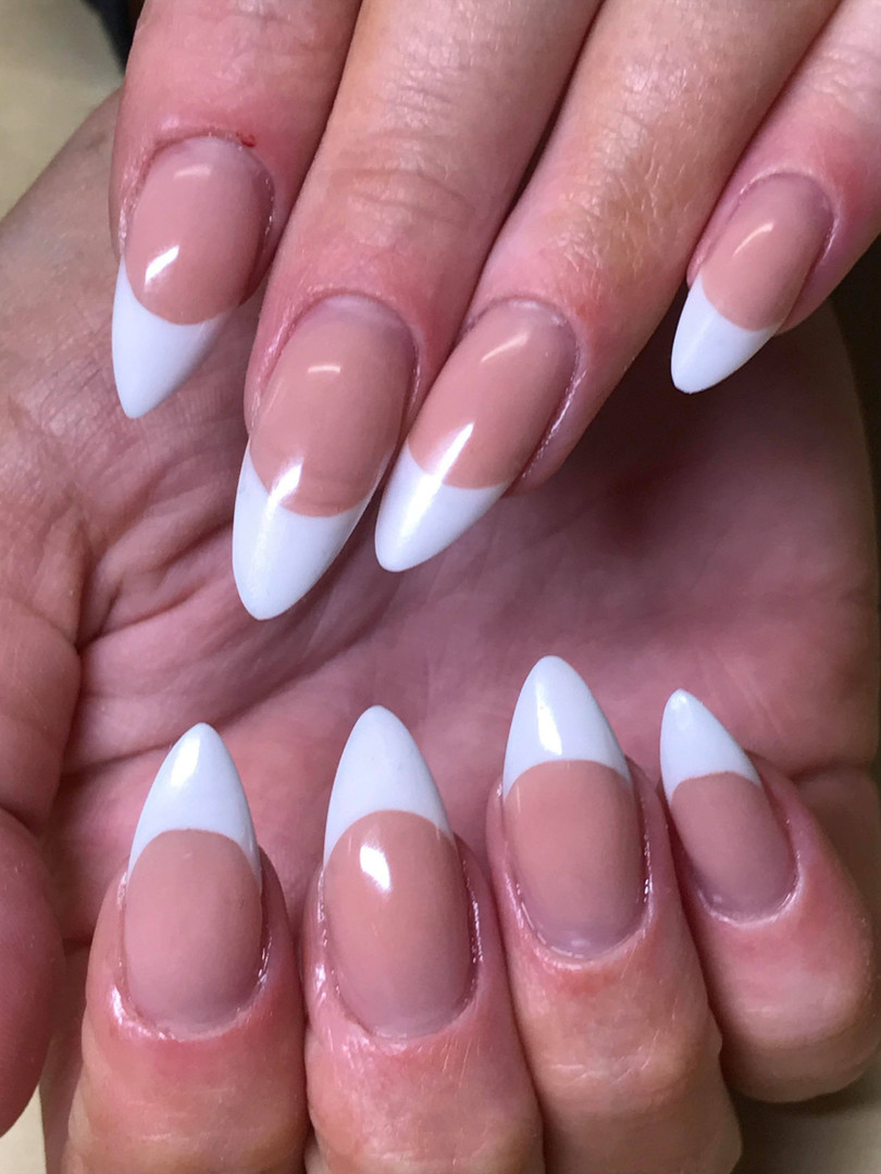 French acrylic extensions