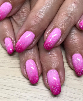 Gelish Ombre on natural nails
