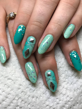 Turquoise & Teal Fade