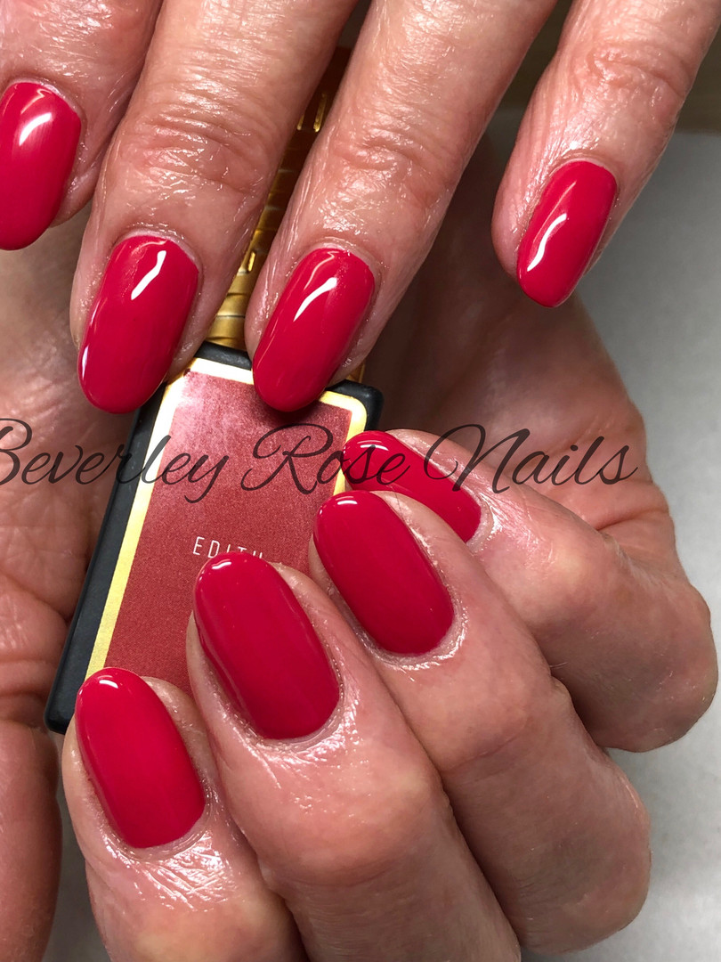 """Prima Gel """"Edith"""" over natural nails"""