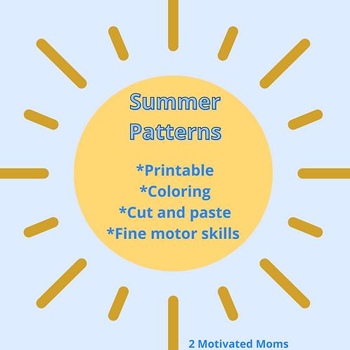 Summer Patterns FREEBIE