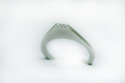 White Turret Ring