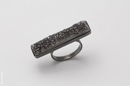 Silver & Druze Stone (l)