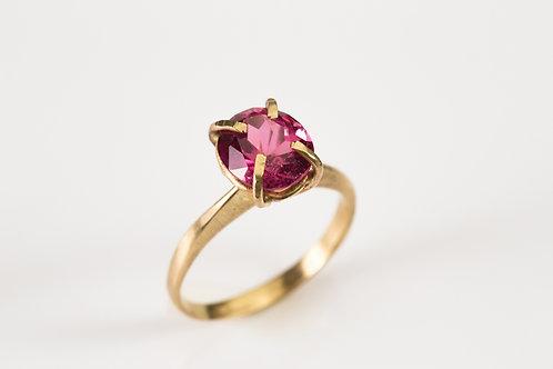 Gold & Tourmaline Stone