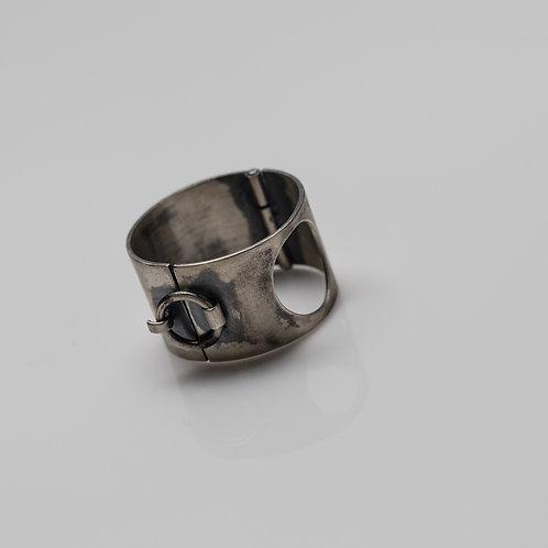 Collar Silver Ring
