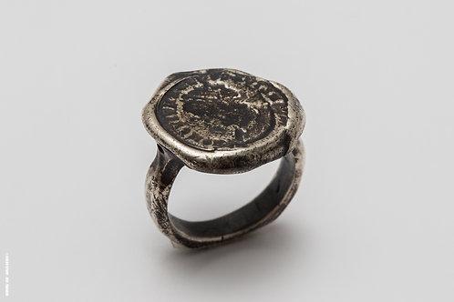 Silver Seal & Antique Coin