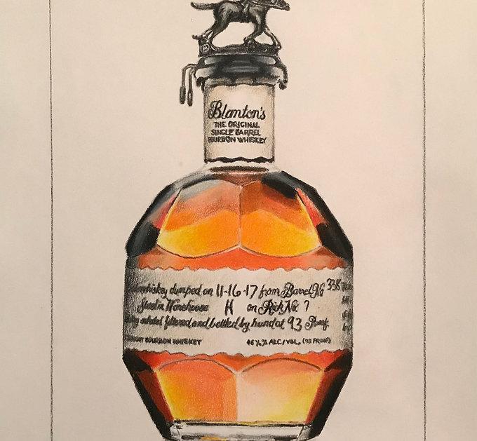 Bottle of Blanton's