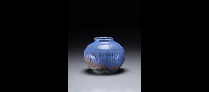 Blue Bean Pot