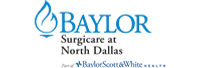 Baylor Surgicare at North Dallas Logo, Sacheen H. Mehta, MD Acitve Medical Staff Orthopaedic Surgeon
