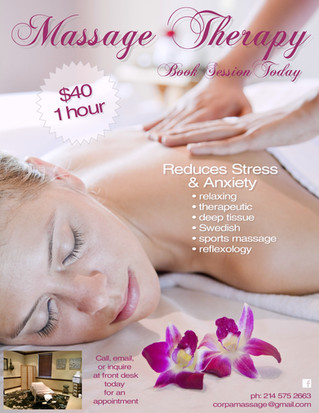 1 Hour Massage for ONLY $40