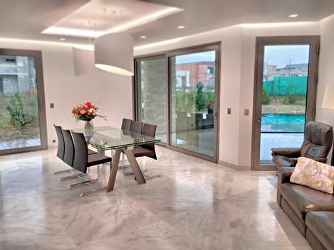 A2CS Domotique: Maison en KNX gestion éclairage, énergie électrique, sécurité et volet.