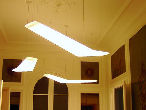 A2CS courant fort: Pause de luminaires bureaux Paris et réseaux électrique