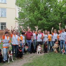 Выступление участников клуба на празднике