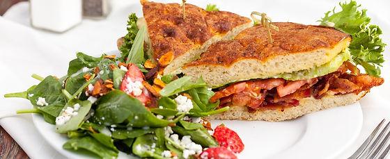 Millionaire's BLT sandwich