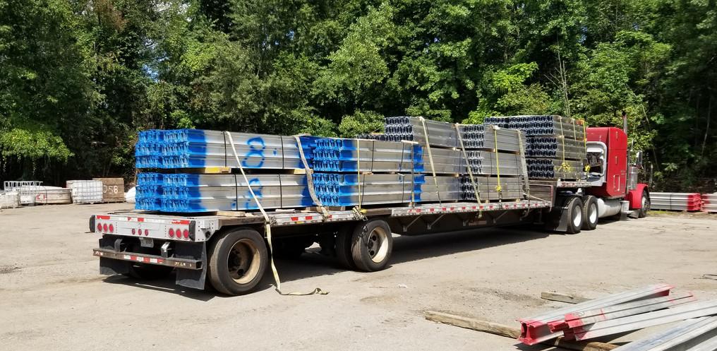 Aluminum Beams_Ohio Yard