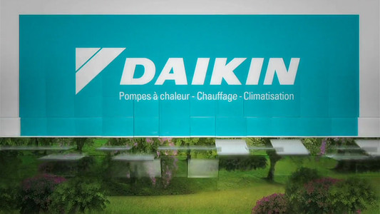Daikin // Billboard Météo