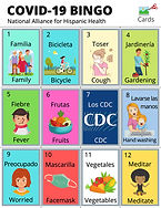 Papá e hija crean versión de bingo familiar (La Lotería) para ayudar a las familias a conectarse, dialogar y aprender más sobre COVID-19