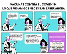 """Alianza Nacional para la Salud  Hispana ofrece nuevas narrativas en las redes sociales sobre la prevención y vacunación contra COVID-19—Apoya las campañas """"Las Tres Ms"""""""