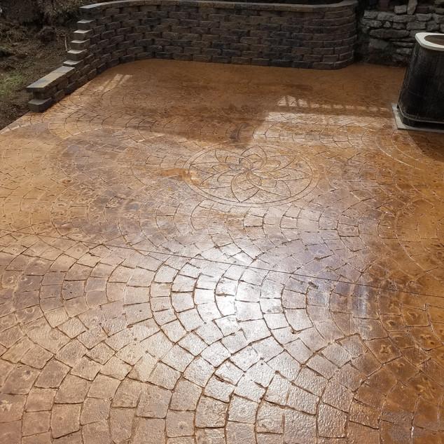 European Stamped Concrete