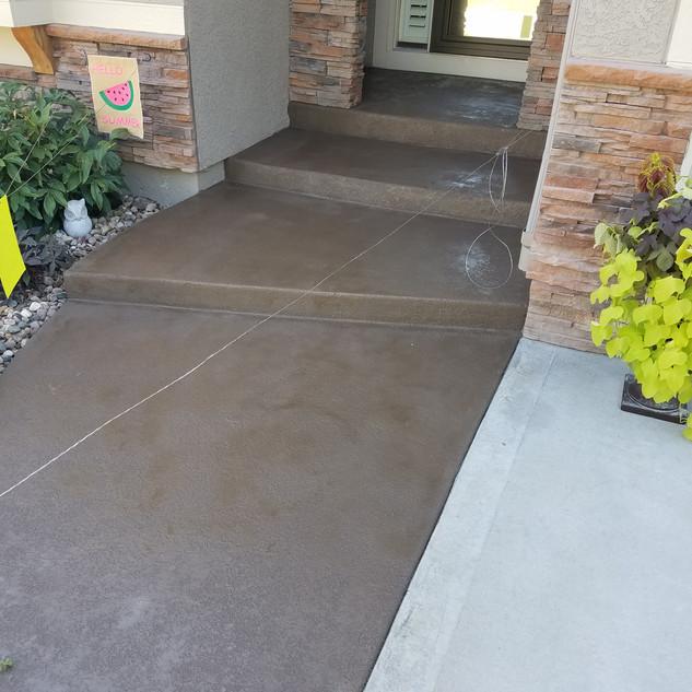 Concrete Textured Overlay