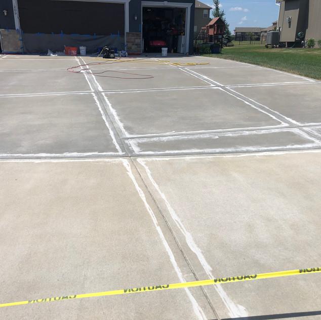 Concrete Driveway Resurfacing