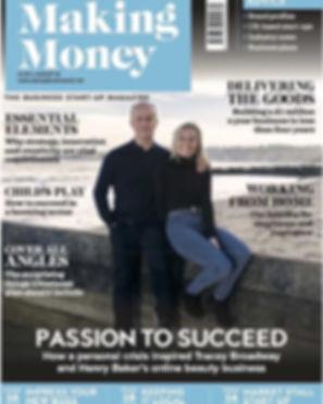 Making Money Magazine (front cover) - Au
