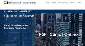 Rebecca Jones Paul McKenna Hypnosis Hypnotherapy Therapy Paris London Harley Street New York Fifth Avenue