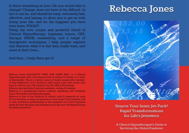 Rebecca Jones Paul McKenna Richard Bandler Hypnosis Hypnotherapy