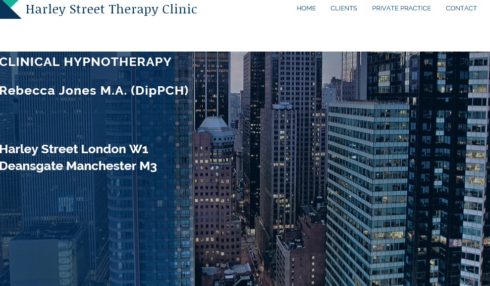 Rebecca Jones Clinical Hypnotherapy Manchester Harley Street London Paris Fifth Avenue New York Worldwide Hypnosis Paul McKenna Consultancy Mentoring