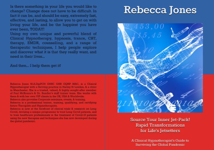 Paul McKenna Richard Bandler Rebecca Jones Hypnosis Hypnotherapy