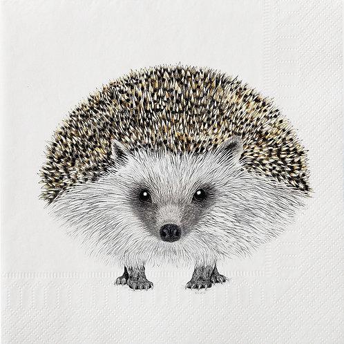 Large Henry Hedgehog Napkins