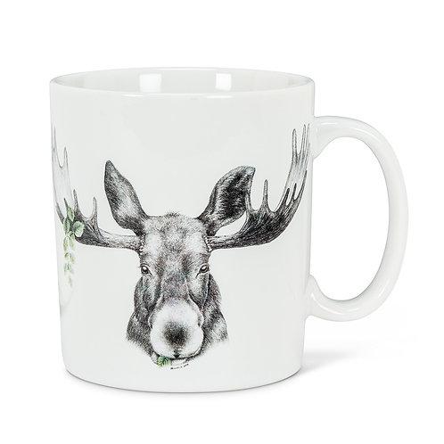 Forest Prince Moose Jumbo Mug