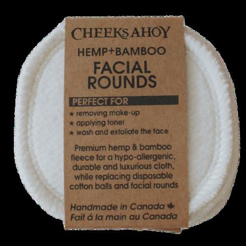 Hemp + Bamboo Facial Rounds