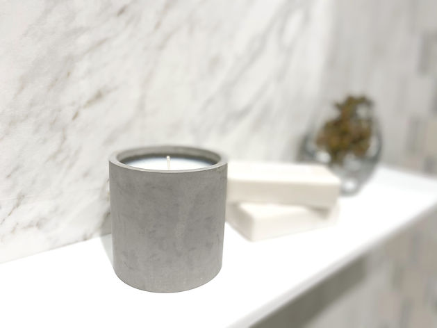 stone collection candles