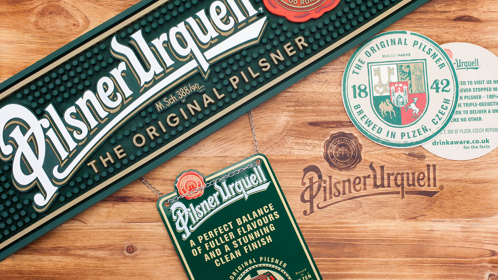 Pilsner-urquell-merchandise-product-photography