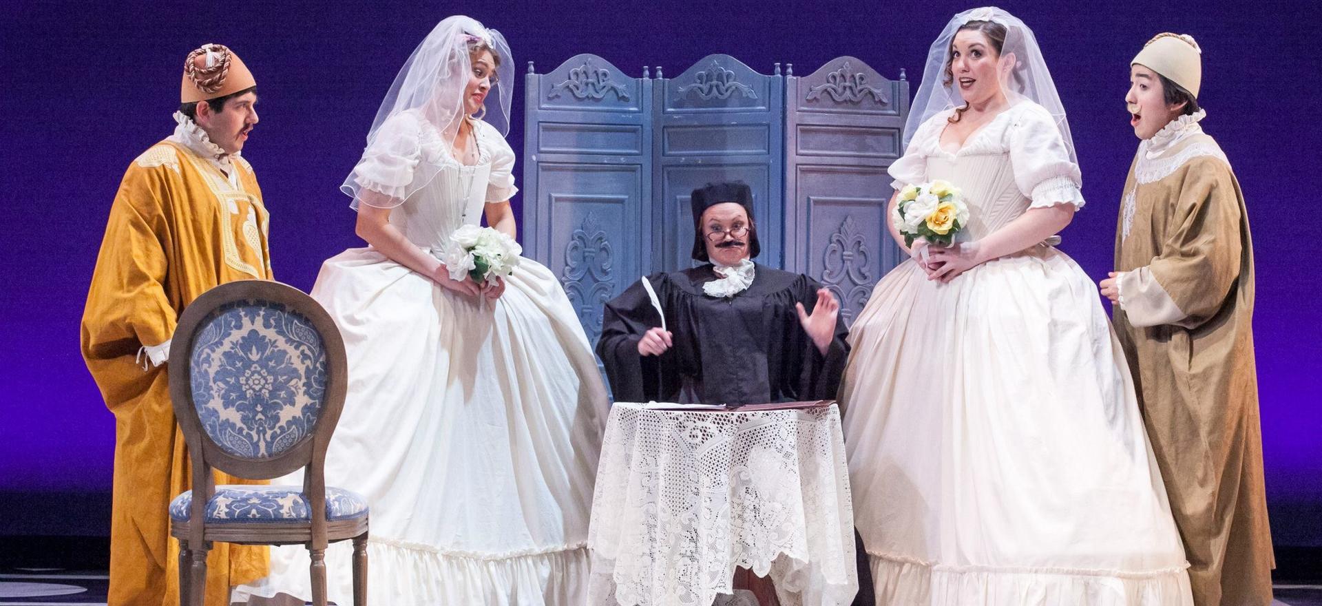 Despina in 'Cosi fan Tutte' - Maryland Opera Studio