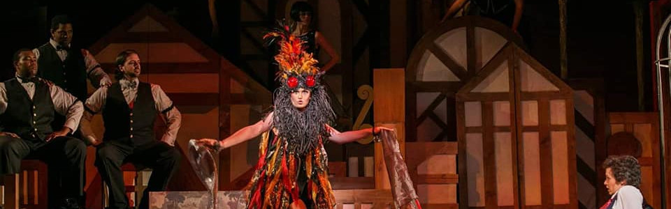 Le Feu in 'L'Enfant et les Sortileges' - Maryland Opera Studio