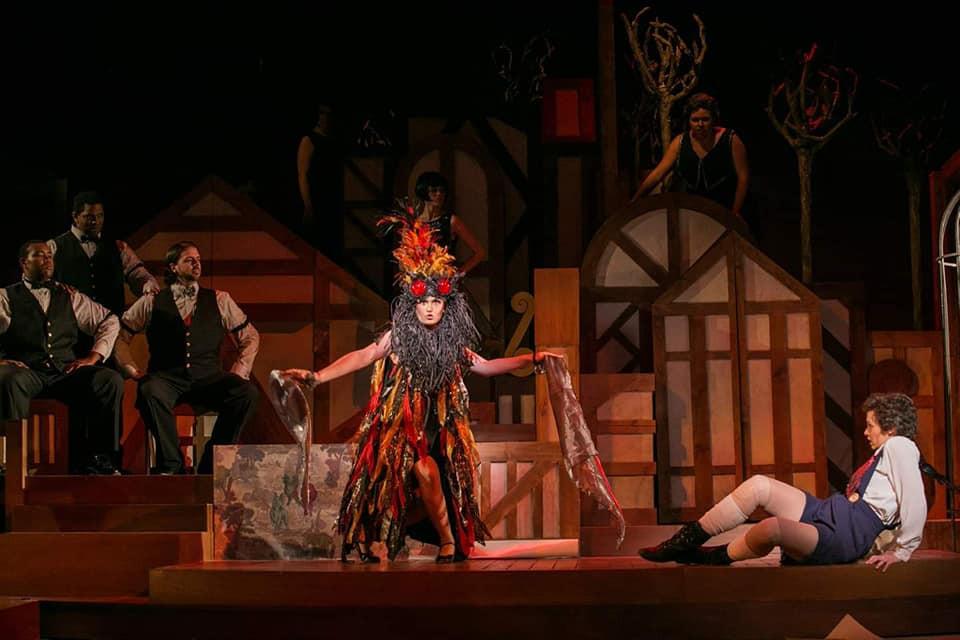 Le Feu in 'L'Enfant et les Sortileges' - Maryland Opera Studio