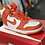 Thumbnail: Nike Dunk Hi Orange/White